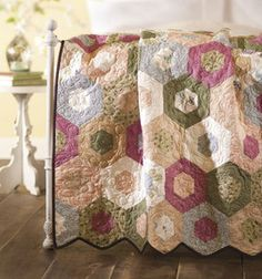 Hexagon Quilt: june: Shop | Joann.com