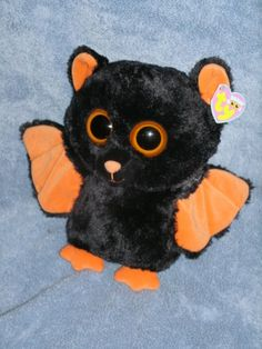 d1ce2ce1316 Ty Beanie Boo Buddy Bat MIDNIGHT 10