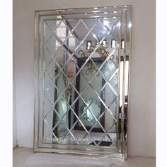 Mirror Cabinet With Light, Surakarta, Mirror Cabinets, Beveled Mirror, Venetian Mirrors, Central Asia, French, Modern, Home Decor