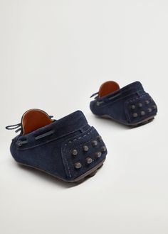 MANGO MAN Schuh 'ft kiowa' in Blau | ABOUT YOU Hermes, Mango, Driving Shoes Men, Fashion Days, Baby Shoes, Slippers, Casual, Interior, Products
