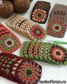Transcendent Crochet a Solid Granny Square Ideas. Inconceivable Crochet a Solid Granny Square Ideas. Motifs Granny Square, Crochet Blocks, Granny Square Crochet Pattern, Crochet Squares, Crochet Blanket Patterns, Crochet Motif, Crochet Designs, Knitting Patterns, Granny Squares
