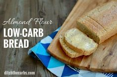 This is THE recipe that everyone is raving about. Low-carb almond flour bread is a healthy gluten free bread that has only 2 steps and slices like a DREAM.