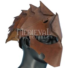 how to make a leather helmet | Assassins Leather Helmet - MCI-2730 by Medieval Collectibles
