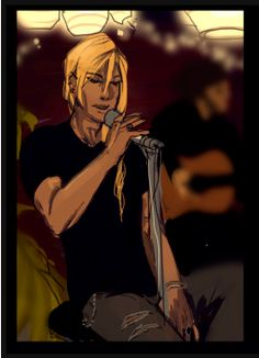 Klavier singing in a bar venue. I love this