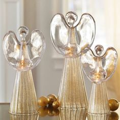 Beautiful! Angels of Light Tealight Trio
