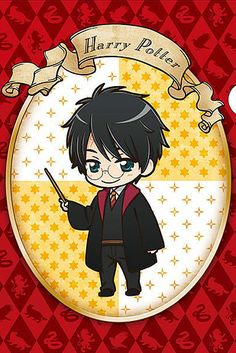These Official Harry Potter Anime Characters Will Make You Squeal With Joy