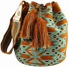 Wayuu Mochila bag Large - Cross Body - Putchipuu