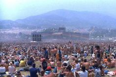 This is Watkins Glen, July 28th 1973. The Band, The Grateful Dead and The Allman Brothers Played. I'm in that crowd, much farther down and on the right side of the stage.