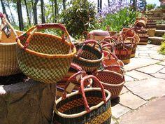 BASKET WEAVING IN ghana AFRICA | Basket for Every Occasion | Bare Essentials Natural Market