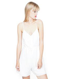#Mono @bershka 19.99€ #moda #verano #whitesummer #tendencia #estilo