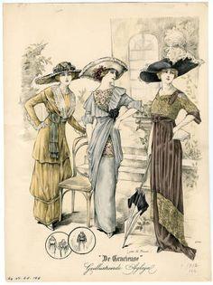 1910-1913, Plate 087 :: Costume Institute Fashion Plates