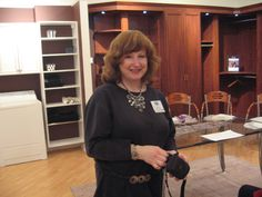 At the California Closets of Cranbury NJ private tour for my clients and friends - such a great evening!