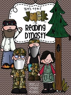 Reading Dynasty Duck Dynasty Theme Reading Resource Packet