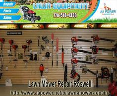 AA power is the best Lawn Mower Repair in Roswell and protection solution for your lawn repair according to yours requirements. Get the more detail and contact information at http://www.aapower.net/p/lawn-mower-repair/