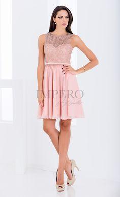 d1954941c5fa DS 2064C  abiti  dress  wedding  matrimonio  cerimonia  party  event   damigelle  rosa  pink