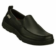 36e7c29a1cf5 Men s Work  Relaxed Fit - Hobbes SR Skechers Slip On Shoes