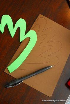 THANKSGIVING Tissue Paper Crafts, Paper Glue, Wax Paper, Turkey Handprint, Turkey Wings, Paper Feathers, Turkey Craft, Paper Frames