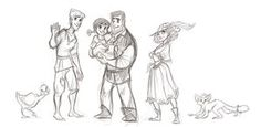 Some Characters by ~WillowWaves on deviantART