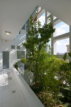 """To suit Cyprus' Mediterranean climate, Ateliers Jean Nouvel designed the building around what it describes as a """"natural brise soleil"""" – a facade where numerous openings are infilled with plants. Social Housing Architecture, Urban Architecture, Sustainable Architecture, Sustainable Design, Jean Nouvel, Building Facade, Green Building, Green Facade, Tower Block"""