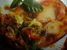tranci di pesce spada - con verdure