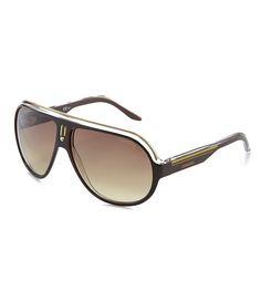 77e89e210a4 Carrera Oversized UVA UVB Protection Aviator Sunglasses