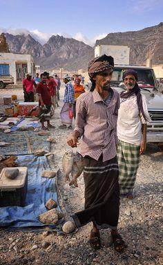 Fish Market, Socotra Island, Yemen