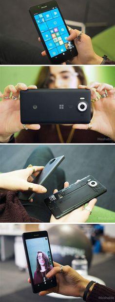 The Microsoft Lumia 950