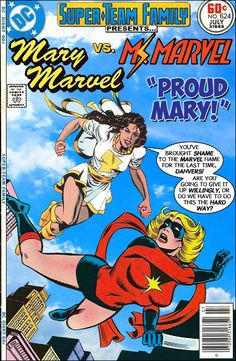 Super-Team Family: The Lost Issues!: Mary Marvel Vs. Ms. Marvel