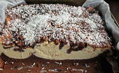 Sernik czekoladowy to jedno z pyszniejszych ciast. Pyszny, ciemny biszkopt z mokrym i puszystym serem w środku, do tego polany polewą i posy...