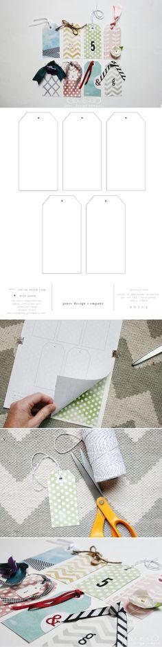 imprimibles para hacer etiquetas.
