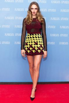 Visit GLAMOUR for the latest celebrity style & fashion pictures: view our weekly edit of best dressed celebrity outfits including Victoria Beckham to Olivia Palermo Cara Delevingne Paper Towns, Cara Delevigne, Cara Delevingne Style, Celebrity Outfits, Celebrity Style, English Fashion, Glamour Uk, Fashion Updates, Red Carpet Fashion
