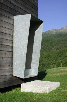 Roberto Briccola Architetto: casa unifamiliare a campo vallemaggia, 1998