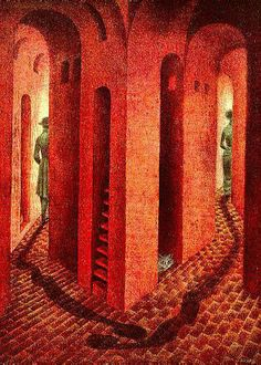 NOTES TO REMEDIOS, Remedios Varo Uranga (1908~1963, Spanish born Mexican para-surrealist painter and anarchist)