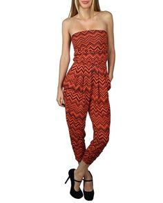 Sexy Outfits Fashion 99 Cents Monochrome Outlets Tube Jumpsuit