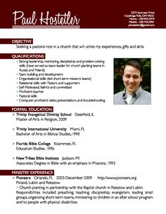 pastoral resume examples: pastor cover letter sample middot ministerial resume examples