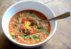 Tomato Risotto, Pasta, Thai Red Curry, Vegan Recipes, Veggies, Meals, Ethnic Recipes, Food, Wordpress