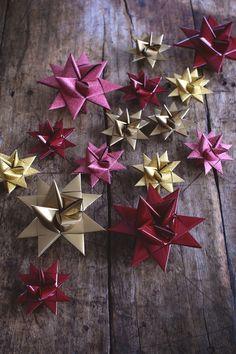 Julpyssel - Klassisk julstjärna i papper