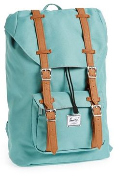 Herschel Supply Co. 'Little America - Medium' Canvas Backpack  Possibly a little pricier than you might want to spend, but great color and durable canvas makes it a great choice.