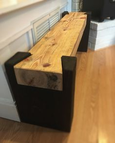 Cypress dovetail beam bench #penandpeg