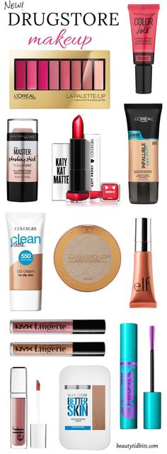 Read More About 12 Exciting New Drugstore Makeup Products You Need to Know About!