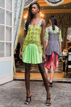 Lisa Folawiyo - Presentation - MercedesBenz Fashion Week Spring 2015