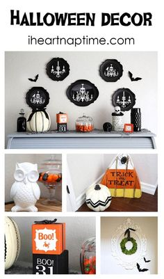 Cute and easy halloween decor on #DIY | http://welcometohalloween.mai.lemoncoin.org