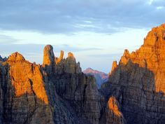 Dolomites in Friuli. Organise your trekking holiday with www.actmltd.com