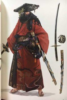 RPG - samurai Vegan Coleslaw vegan coleslaw cookie and kate Fantasy Character Design, Character Design Inspiration, Character Concept, Character Art, Concept Art, Arte Ninja, Ninja Art, Ronin Samurai, Samurai Warrior
