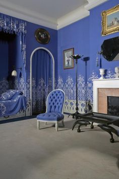 Bedroom of Jeanne Lanvin, fashion designer | Museum Documentation Centre - Decorative Arts ~ Paris