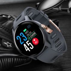 Torntisc Smart Watch Waterproof Heart Rate Monitor Fitness Tracker Sport Smartwatch Men Women For Android IOS Phone Michelle Lewin, Blood Pressure Monitor Watch, Waterproof Fitness Tracker, Face Change, Watch Diy, Remote Camera, Heart Rate Monitor, Aliexpress, Badminton