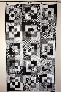 Black and White Throw and other blank and white projects