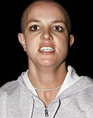 Britney Spears - Bald hairstyle