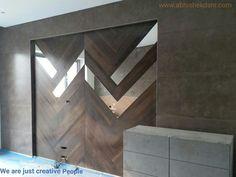 Tile,mirror & veneer, Design by Abhishek Dani Design www.abhishekdani.com