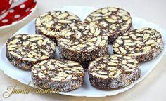 Salam de biscuiti - reteta video